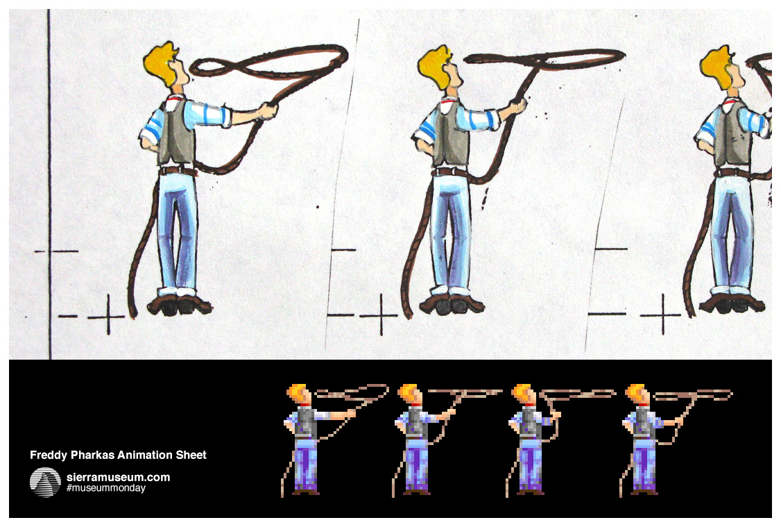 Freddy Pharkas Animation Sheet from Josh Mandel
