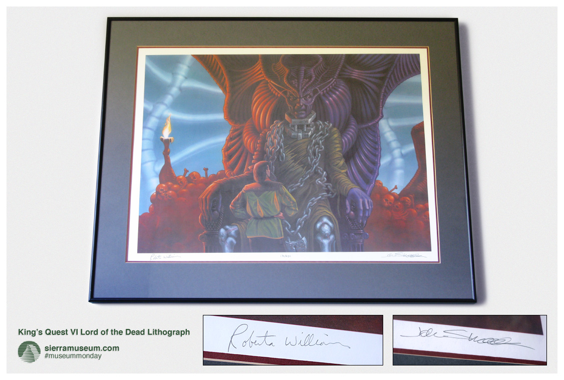 King S Quest Vi Lord Of The Dead Lithograph Sierramuseum Com